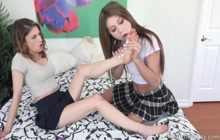 Kristen Scott and JoJo Kiss are foot lovers