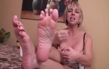 Great foot domination